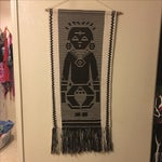 Image of Vintage Tribal Tapestry Wall Hanging