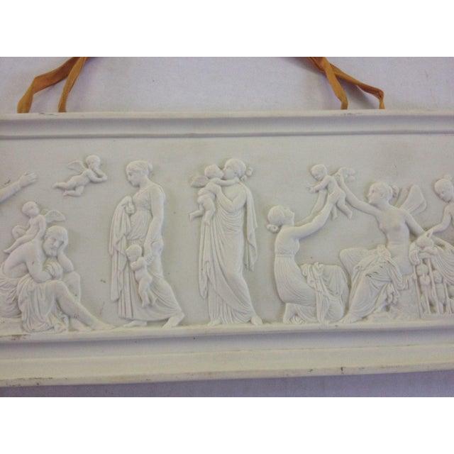 Image of Royal Copenhagen Parian Porcelain Bisque Plaque