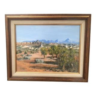 Utah Needles Western Landscape Painting
