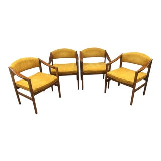 Mid-Century Monarch Furniture Armchairs - Set of 4