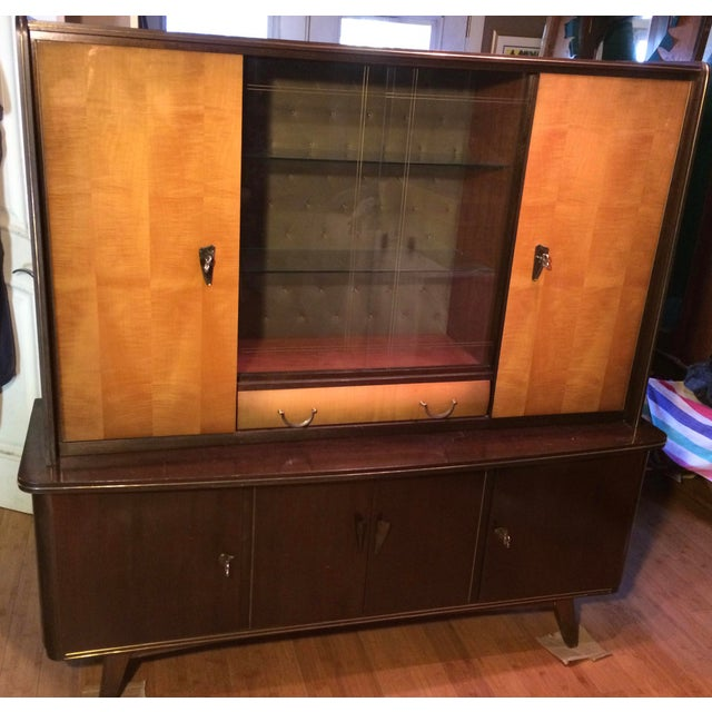 Bahre mignon mobel mid century shrunk display cabinet for Design sale mobel