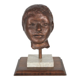 """""""Child"""" Bust by Laura Lengyel"""