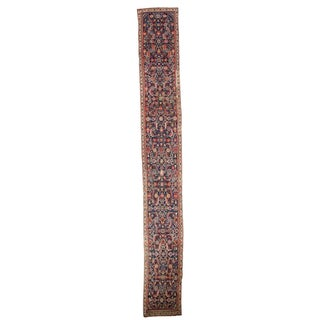 "Antique Karabagh Rug Runner - 2'2"" X 17'4"""