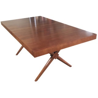 Robsjohn Gibbings Widdicomb X-Base Dining Table