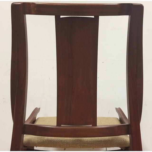Glenn of California Mid Century Walnut Chair - Image 8 of 11