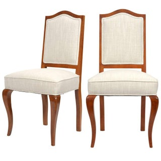 Maison Jansen Vintage French Side Chairs - A Pair