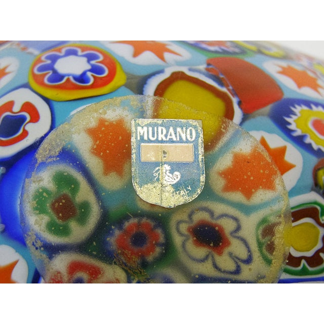 Fratelli Toso Millefiore Mosaic Murano Glass Bowl - Image 6 of 10