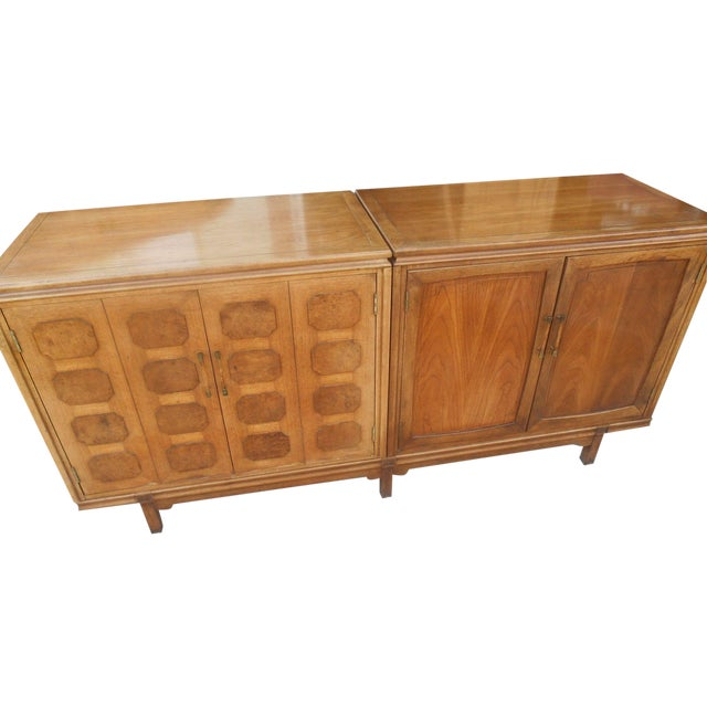 MCM Thomasville Floating Dual Credenza - Image 1 of 6