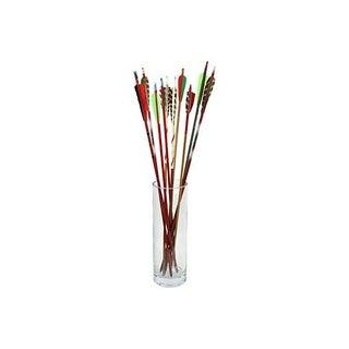 Mid-Century Multicolored Arrows - Set of 10