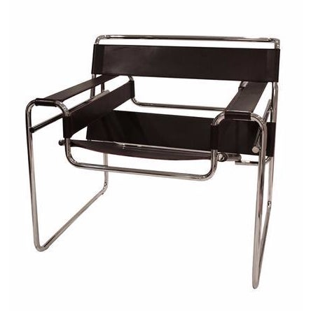marcel breuer 39 s wassily chair chairish. Black Bedroom Furniture Sets. Home Design Ideas