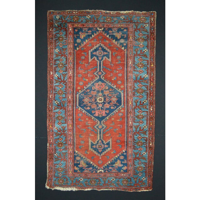 "Image of Vintage Persian Rug - 3'7"" x 6'1"""