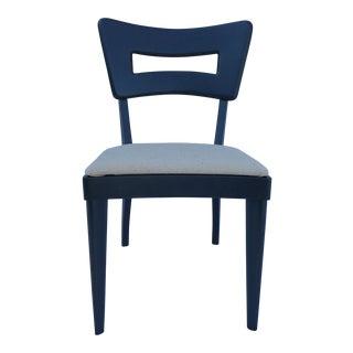 Heywood Wakefield Dark Gray Chair