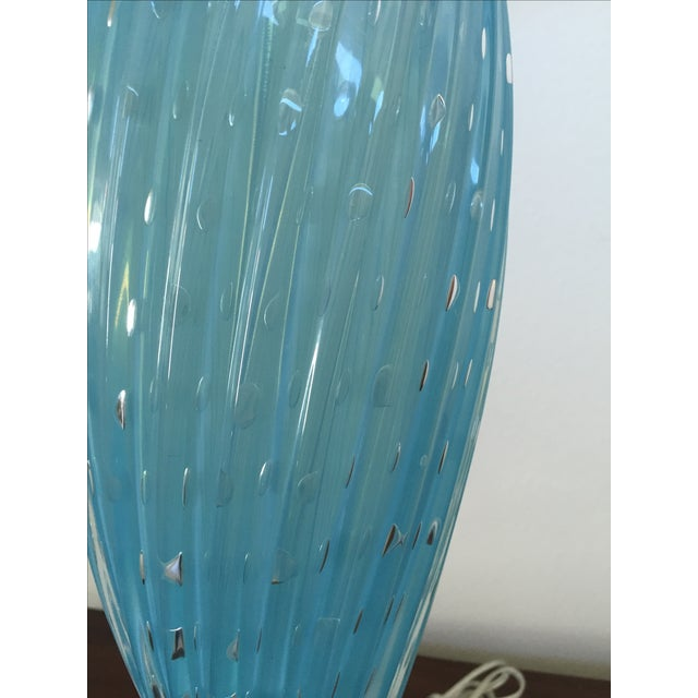 Murano Glass Table Lamps - Image 5 of 10