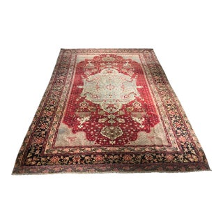 "1920s Antique Turkish Sivas Rug - 8'9"" x 12'9"""
