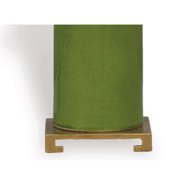 Image of Apple Green Porcelain Table Lamp