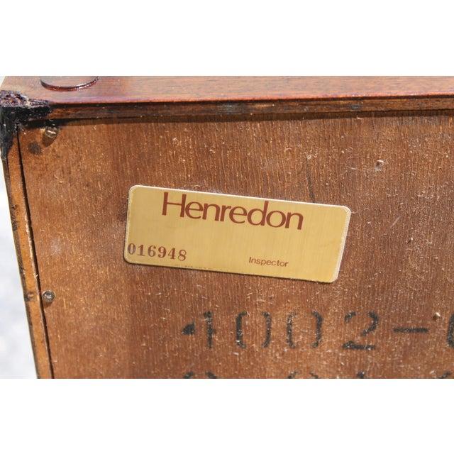Henredon Cherry Chinoiserie Nightstands - A Pair - Image 10 of 10