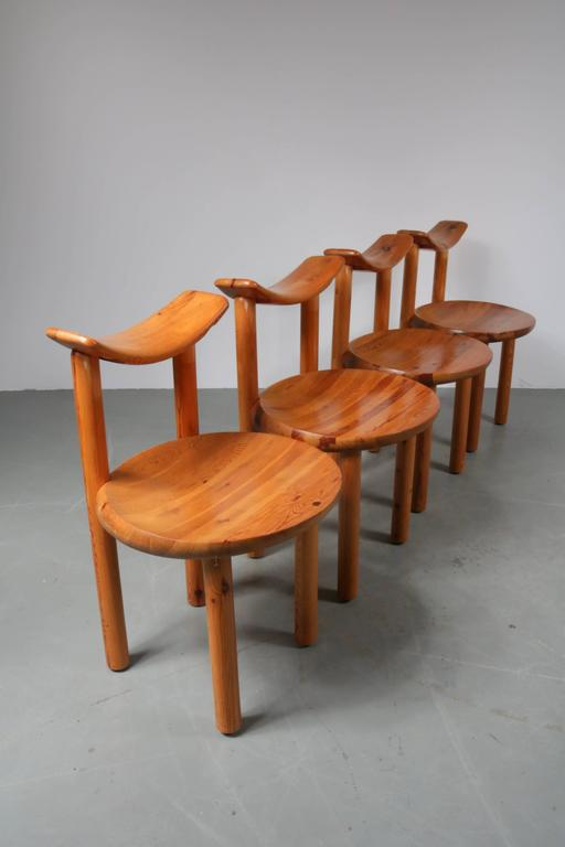Set Of Four Dining Chairs By Rainer Daumiller For Hirtshals Sawmill,  Denmark   Image 2