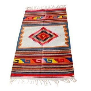 Traditional Sarape Wool Rug