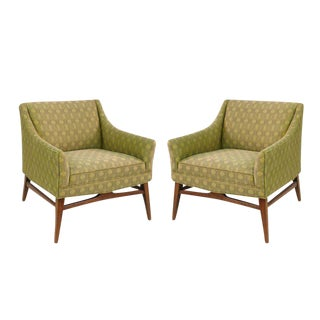 Pair of Midcentury Sculptural Chairs