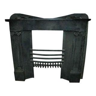 Cast Iron Federal Style Log Holder