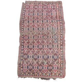 Central Asian Rug Inspired by Ikat Textiles