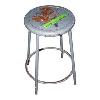 Adjustable Industrial Metal Stool