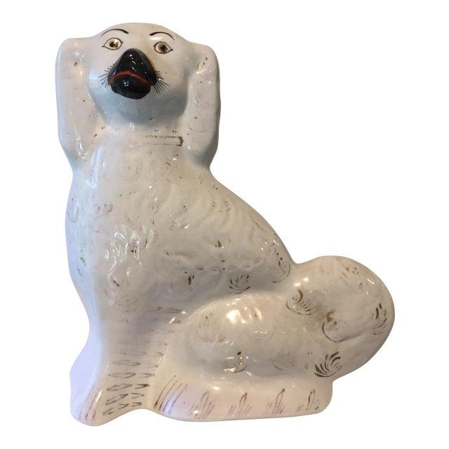 19th C. Staffordshire Dog Figurine - Image 1 of 7