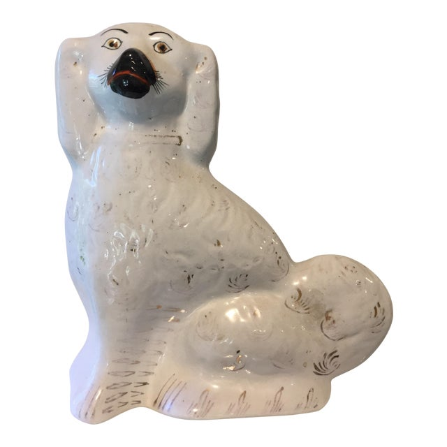 Image of 19th C. Staffordshire Dog Figurine