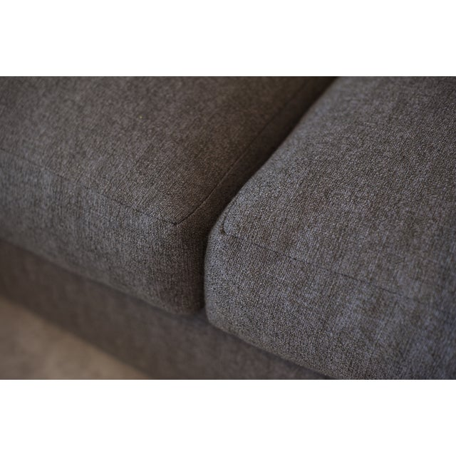 Nathan Anthony Upholstered Gray Sectional - Image 4 of 4