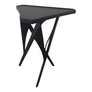 Paul Marra Triangular Steel Side Table