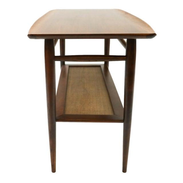 Mid Century Sofa Table: Mid Century Walnut Console Sofa Table