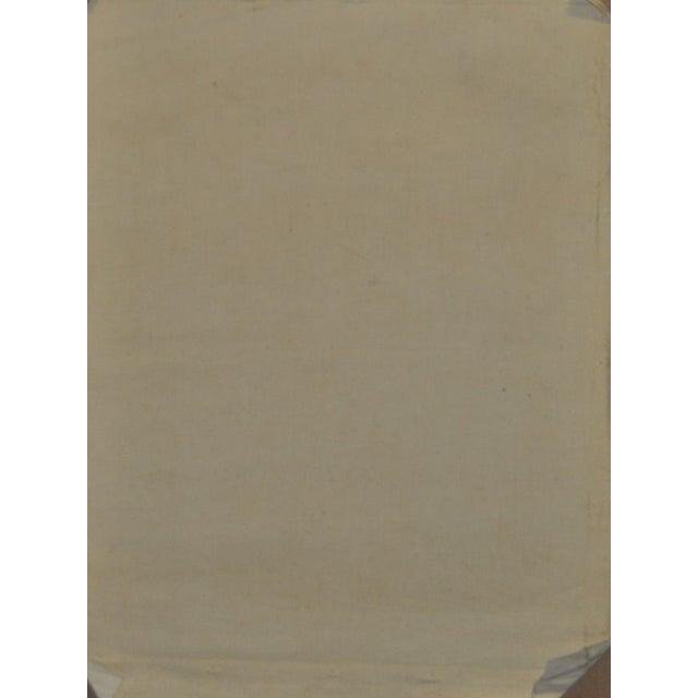 Nancy Larsen Vintage Oil Painting, C.1940's - Image 6 of 6