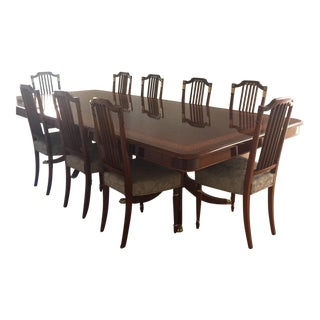Italian Pozzoli Dining Table & Chairs