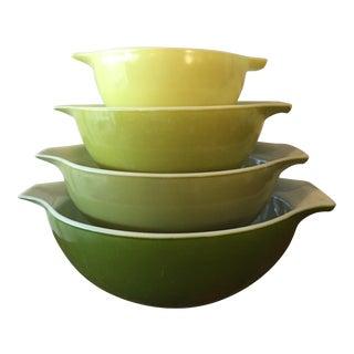 Pyrex Verde Mixing Bowl - Set of 4