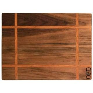 Walnut & Cherry Inlay Cutting Board