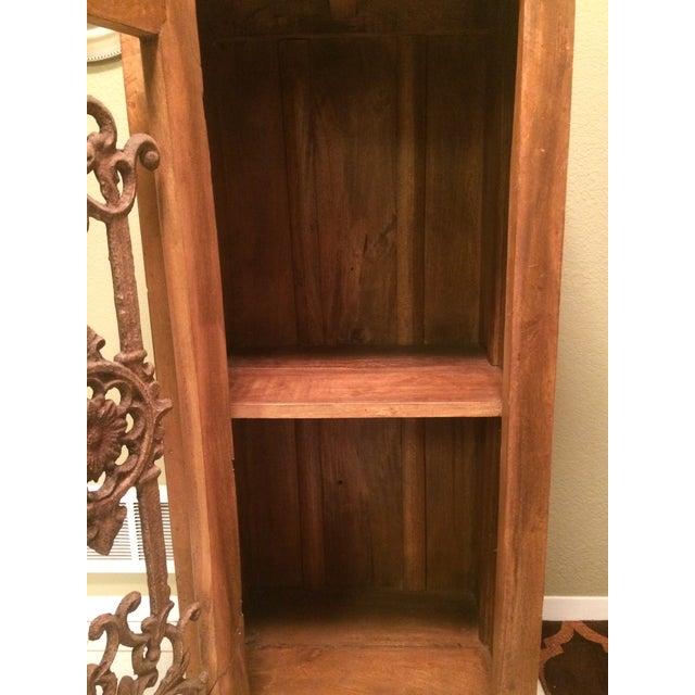 Teak Bookcase Cabinet - Image 4 of 4