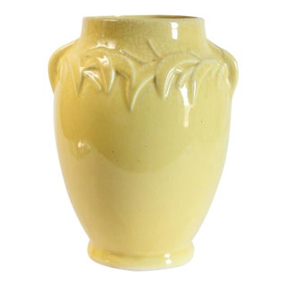 Canary Yellow McCoy Vase
