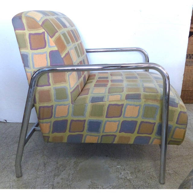 Kem Webber-Style Lounge Chairs - A Pair - Image 4 of 11