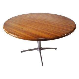 Mid-Century Round Center Table