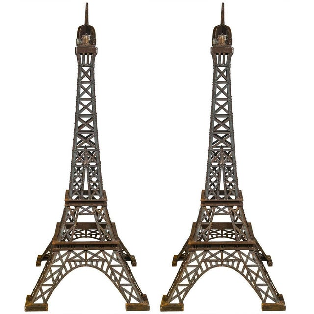 Eiffel Tower Sculpture - Image 2 of 9