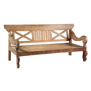 Colonial Wood Bali Bench