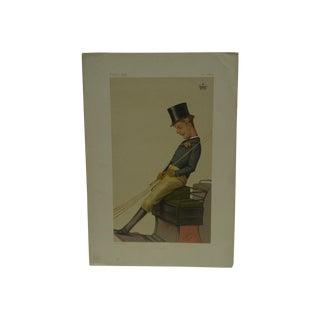 """1874 Vintage """"Charlie"""" Vanity Fair Print"""
