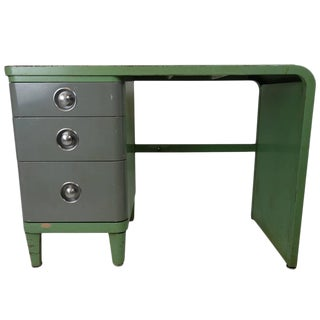 Norman Bel Geddes Simmons Company Furniture Enameled Steel Desk