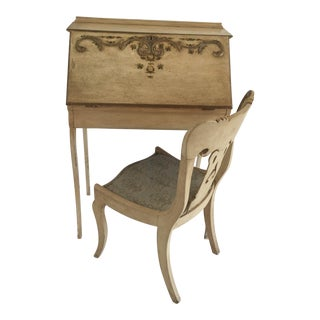 French Desk & Chair - A Pair