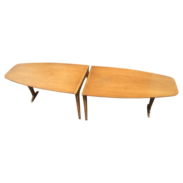 Mid-Century Drexel 2-Piece Coffee Table - Image 1 of 8