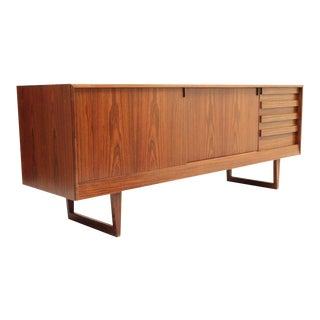 Danish, Mid-Century Rosewood Credenza or Sideboard by Kurt Østervig
