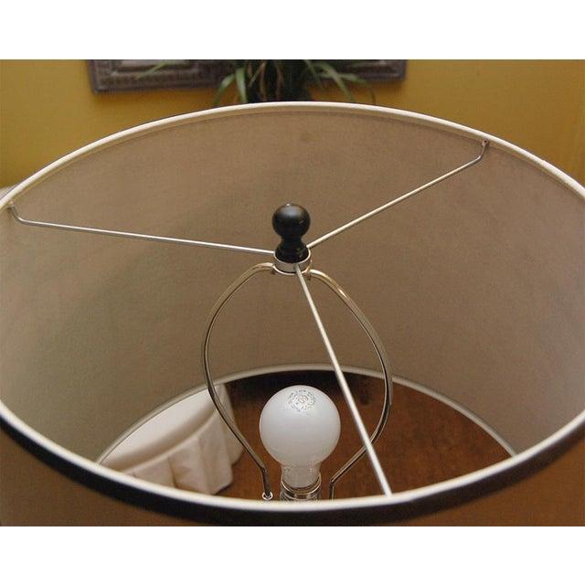 Ghee Black Twist Floor Lamp with Shade - Image 7 of 9