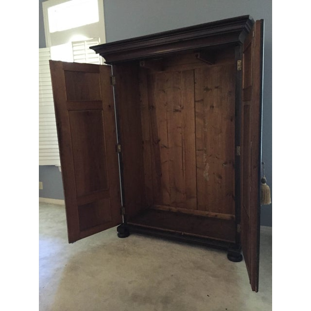 Hand Painted Czech Armoire - Image 3 of 5