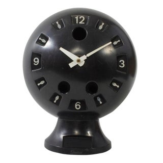 Vintage Bowling Ball Clock