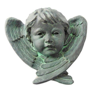Vintage Angel Face Wall Hanging